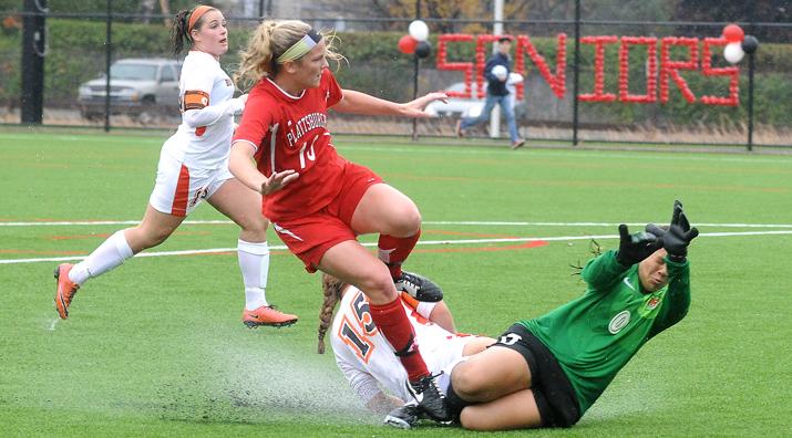 Photo of Women's Soccer game
