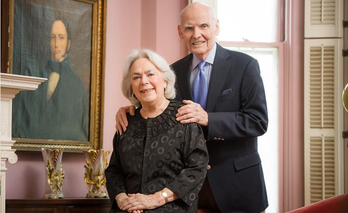 Photo of Joseph and Joan Burke