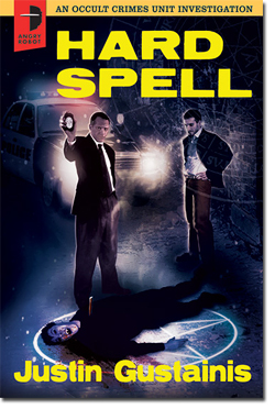 """Cover of Justin Gistainis' book """"Hard Spell"""""""