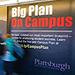 Photo of campus plan art