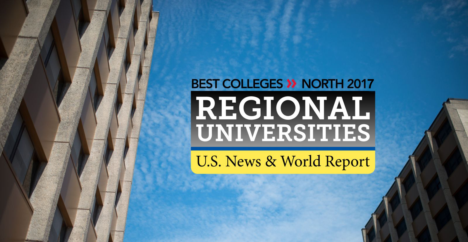 U.S. News & World Report ranks SUNY Plattsburgh among the best colleges in northern regional colleges for 2017