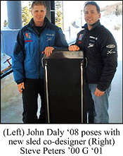Photo of SUNY Plattsburgh grads John Daly and Steve Peters