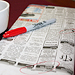 Photo of newspaper classifieds