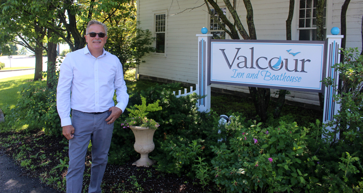 Photo of John Parmelee at the Valcour Inn and Boathouse