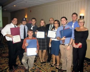 Photo of SUNY Plattsburgh communication students