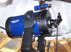 Photo of the telescope at Twin Valleys