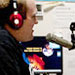 Photo of Brian Smith, part of the team heading up bluegrass efforts at the college's WARP radio station