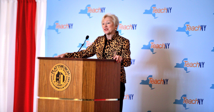 Photo of SUNY Chancellor Nancy Zimpher