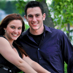 Photo of Michael Riley and Jessica Light '07