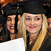 Photo of of students at commencement