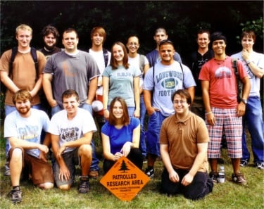 image of fall 2009 Miner AESP students