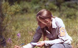 Image of Student Conservation Association intern