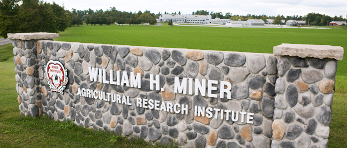 Photo of the Miner Farm sign
