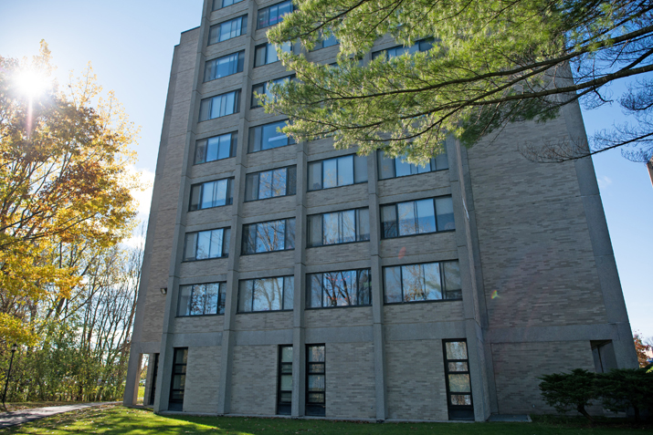 Photo of Wilson Hall from the back
