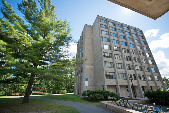 Photo of Wilson Hall from the front