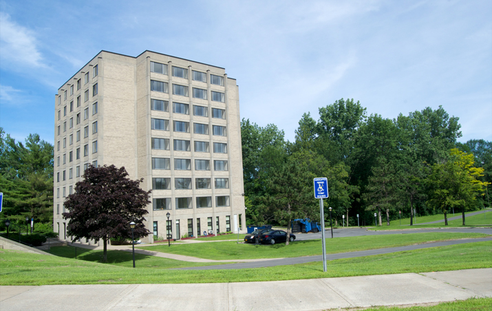 Photo of Wilson Hall from the side