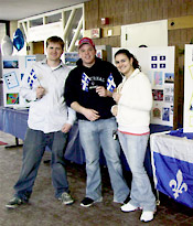 Photo of Club Canada students in Angell College Center