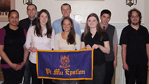 Photo of 2011 Pi Mu Epsilon inductees