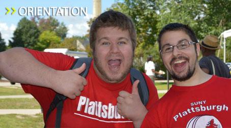 SUNY Plattsburgh Orientation