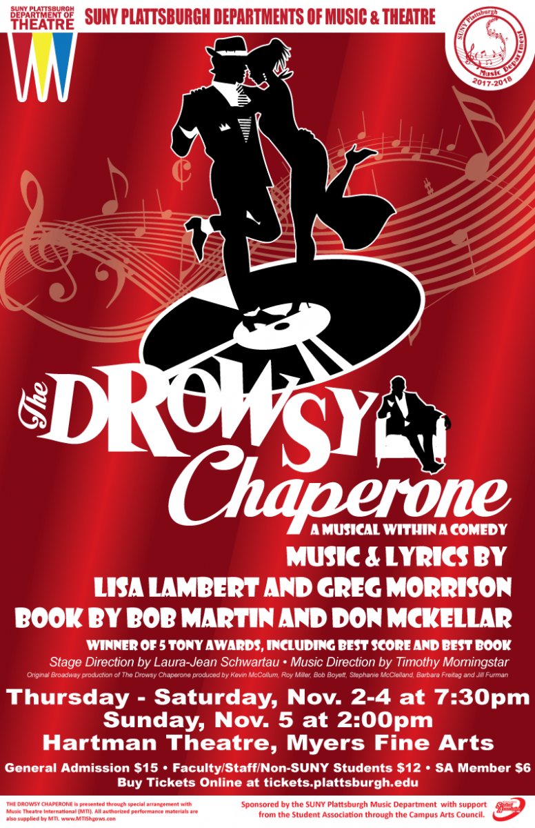 Poster for Drowsy Chaperone