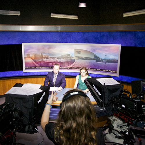 Check out the facilities available to Broadcast Journalism Majors.