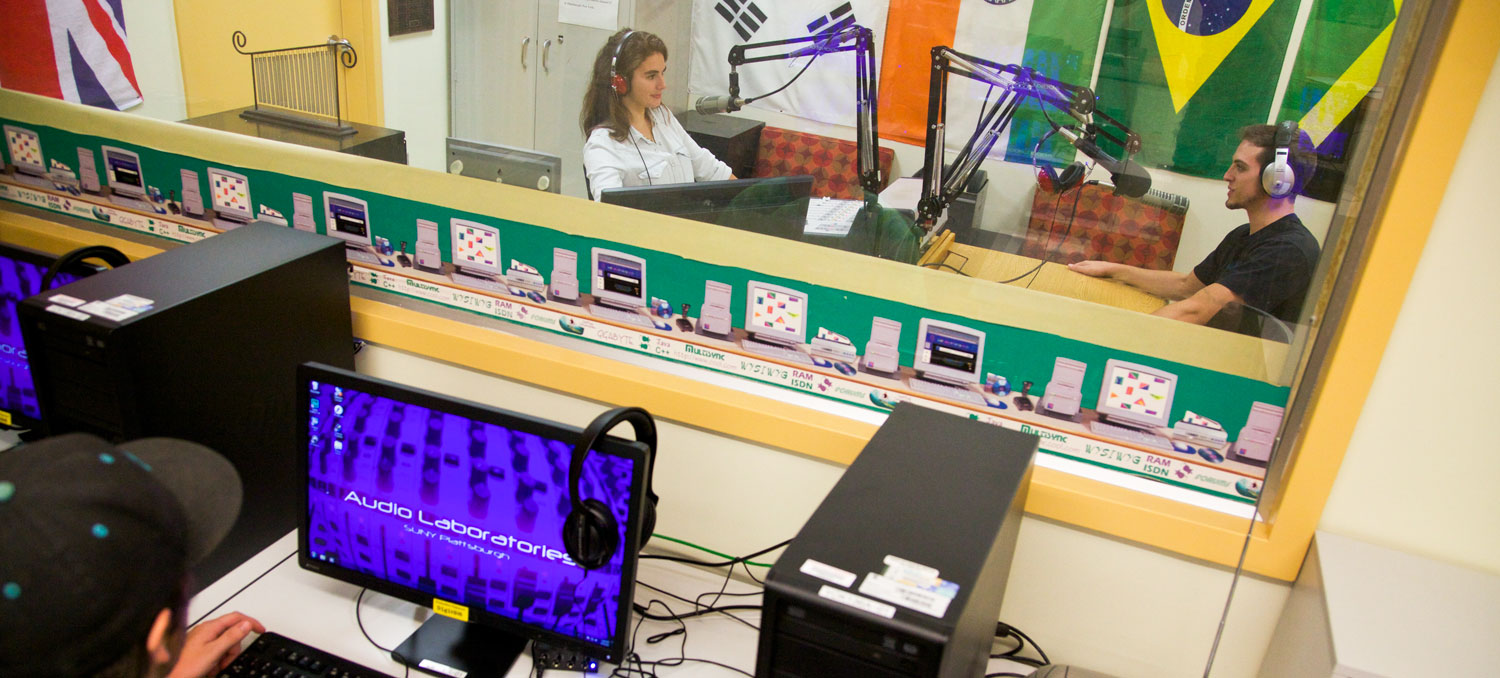 Get on-air in our live radio broadcasting studios.