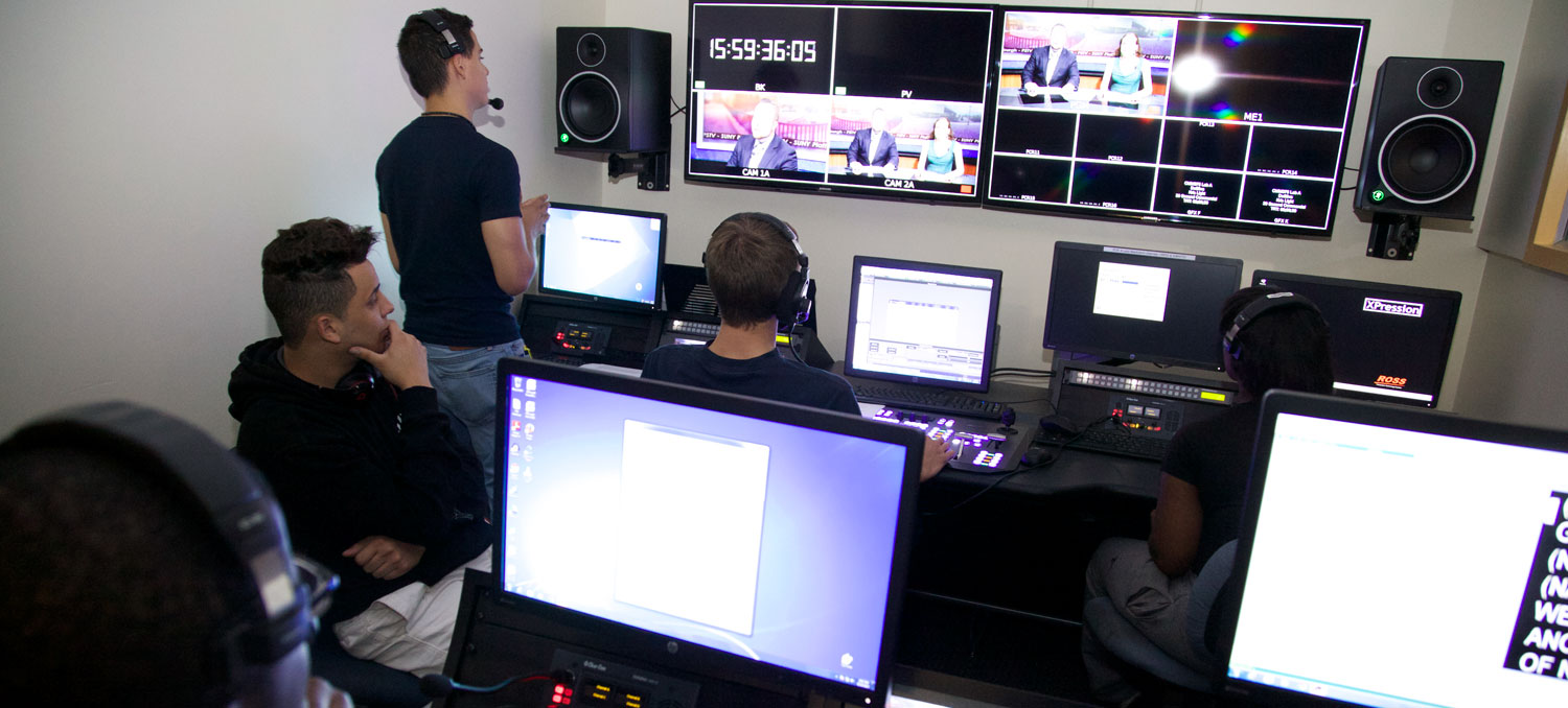 Careers in TV/Video Production are available through our degree programs