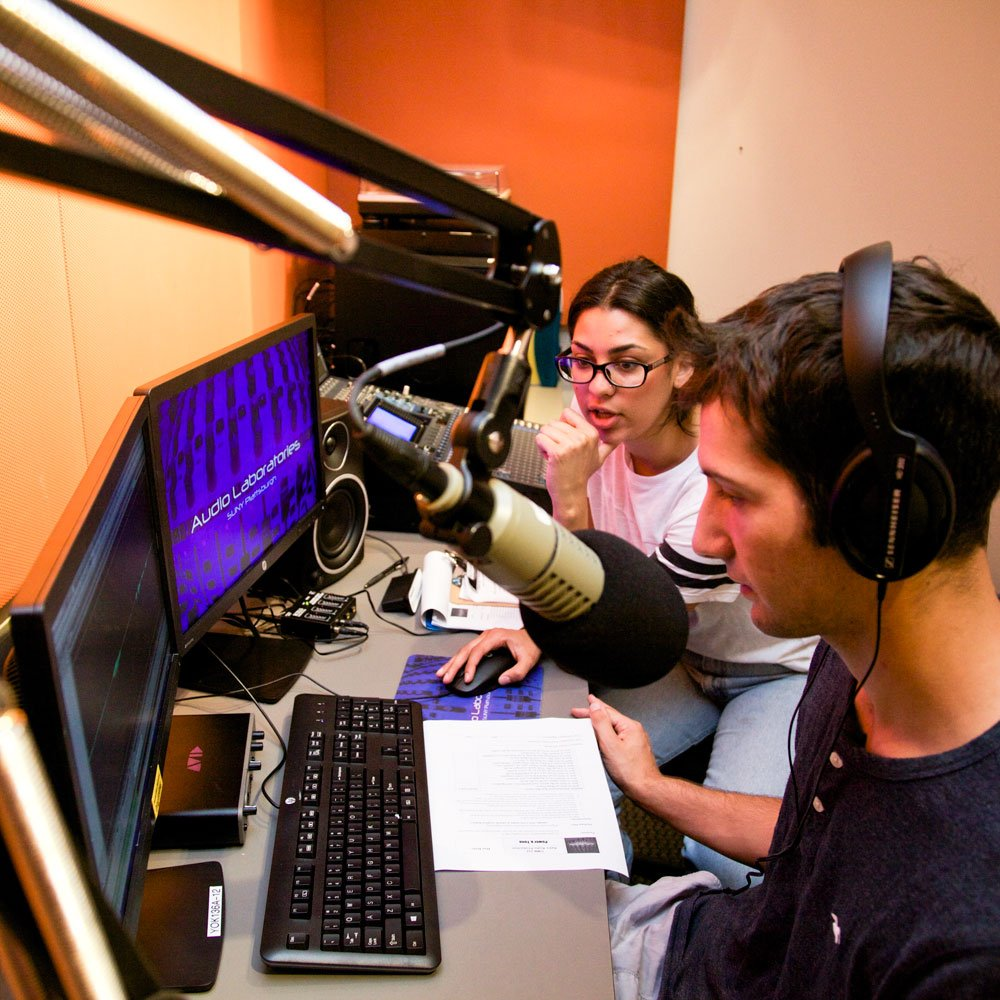 Check out the facilities available to Audio-Radio Production Majors.