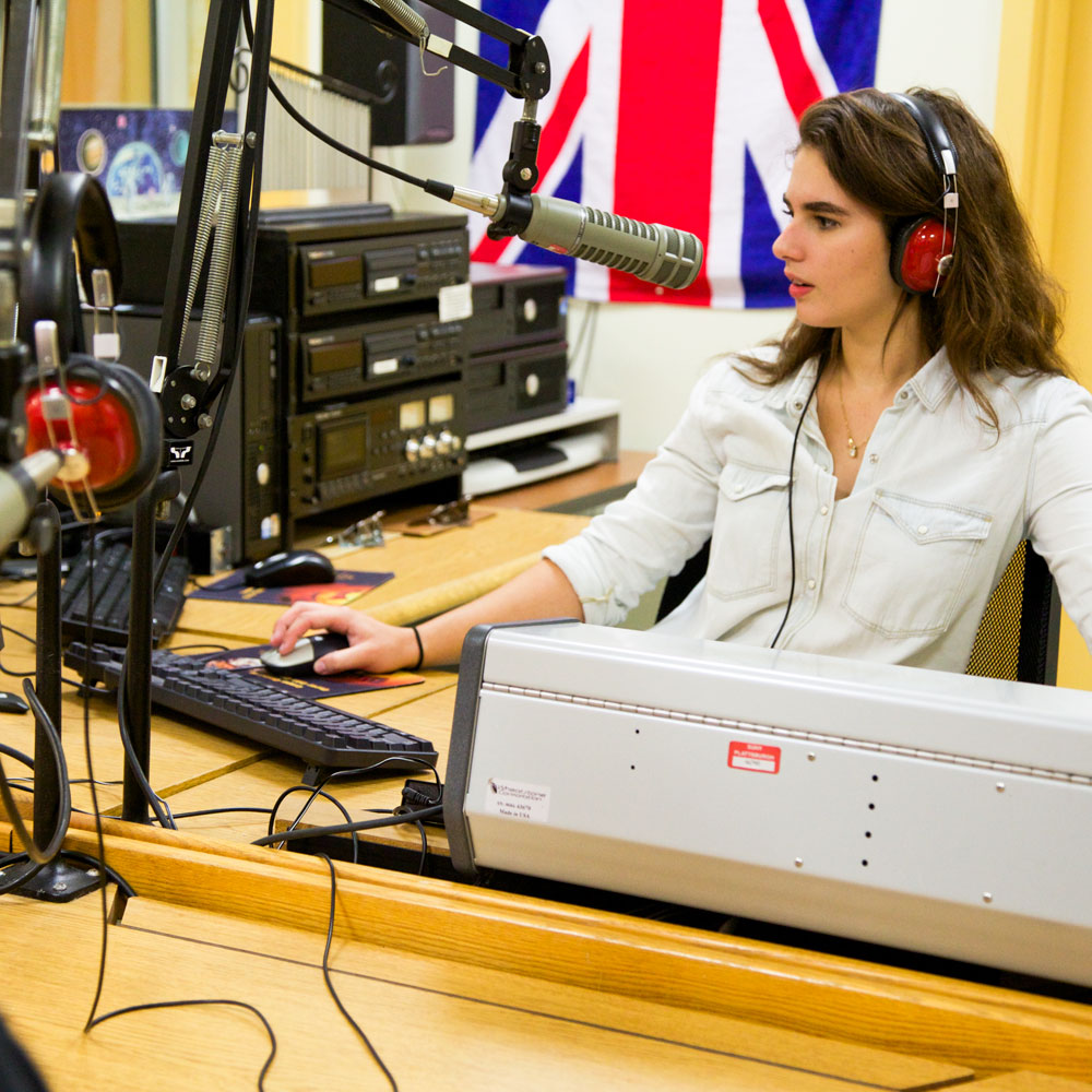 Check out the facilities available to Radio Minor.