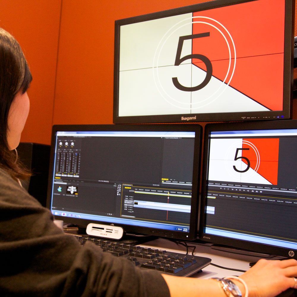 Check out the facilities available to TV/Video Production Majors.