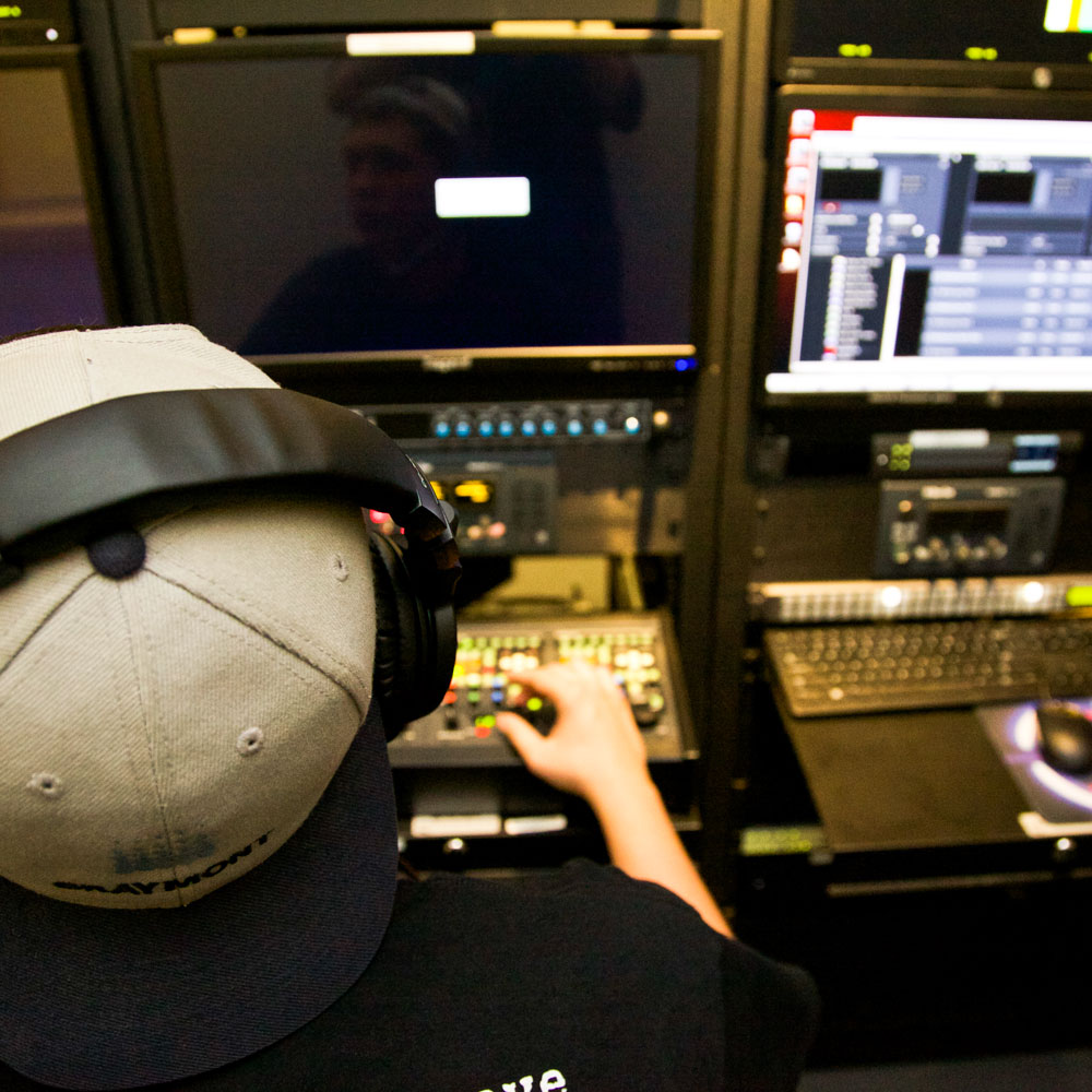 Check out the internships available to TV/Video Production Majors.