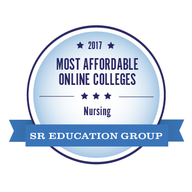 #8 Most Affordable Online College for Nursing Degree in the Nation 2017