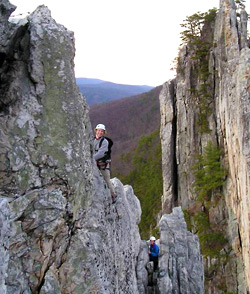 Photo of a rock climing expedition