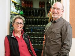 Photo of Cerise Oberman and Larry Soroka