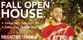 Schedule a visit to SUNY Plattsburgh Fall Open House