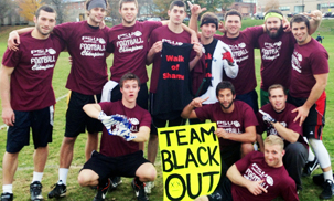 Photo of championship flag football team