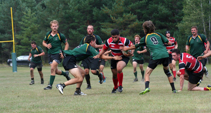 Hansel running through