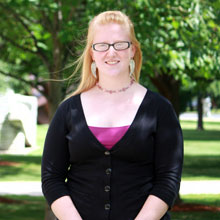 Photo of SUNY Plattsburgh student Anna Pogoza
