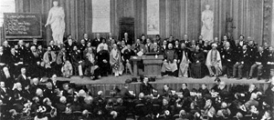 Photo of the Parliament of World Religions of 1893