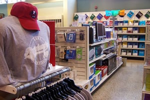 Photo of the SUNY Plattsburgh bookstore