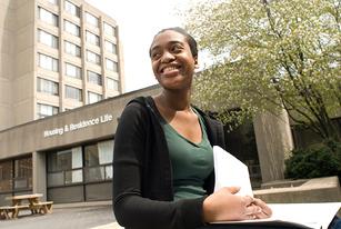 Photo of SUNY Plattsburgh student