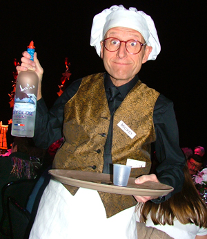 Photo of Kenneth Klapp on-stage in the role of Mickey Black