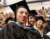 Photo of SUNY Plattsburgh students at commencement