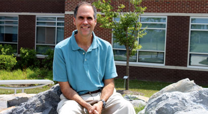 Photo of Dr. Stephen Danna at the Queensbury campus