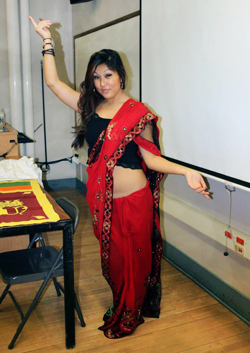 Photo of Pema Lhakyi backstage