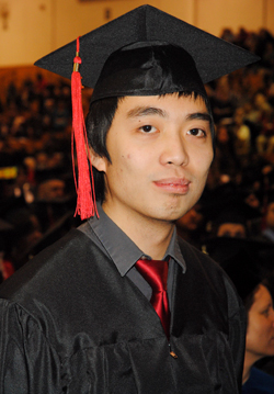 Photo of SUNY Plattsburgh student Trung DAM