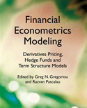 Cover iof Financial Econometrics Modeling