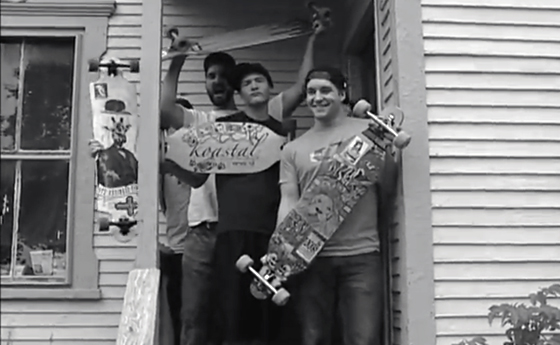 Video screencap of student produced video Weekly Burghy, Almighty Shredders