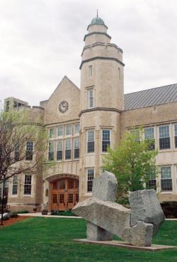 Photo of campus art