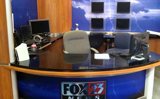 Photo of Fox WXXA set